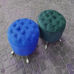 PUFF REDONDO Fabrica de colchones y almohadas