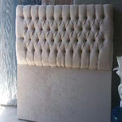 RESPALDO CAPITONE ENTERO Fabrica de colchones y almohadas